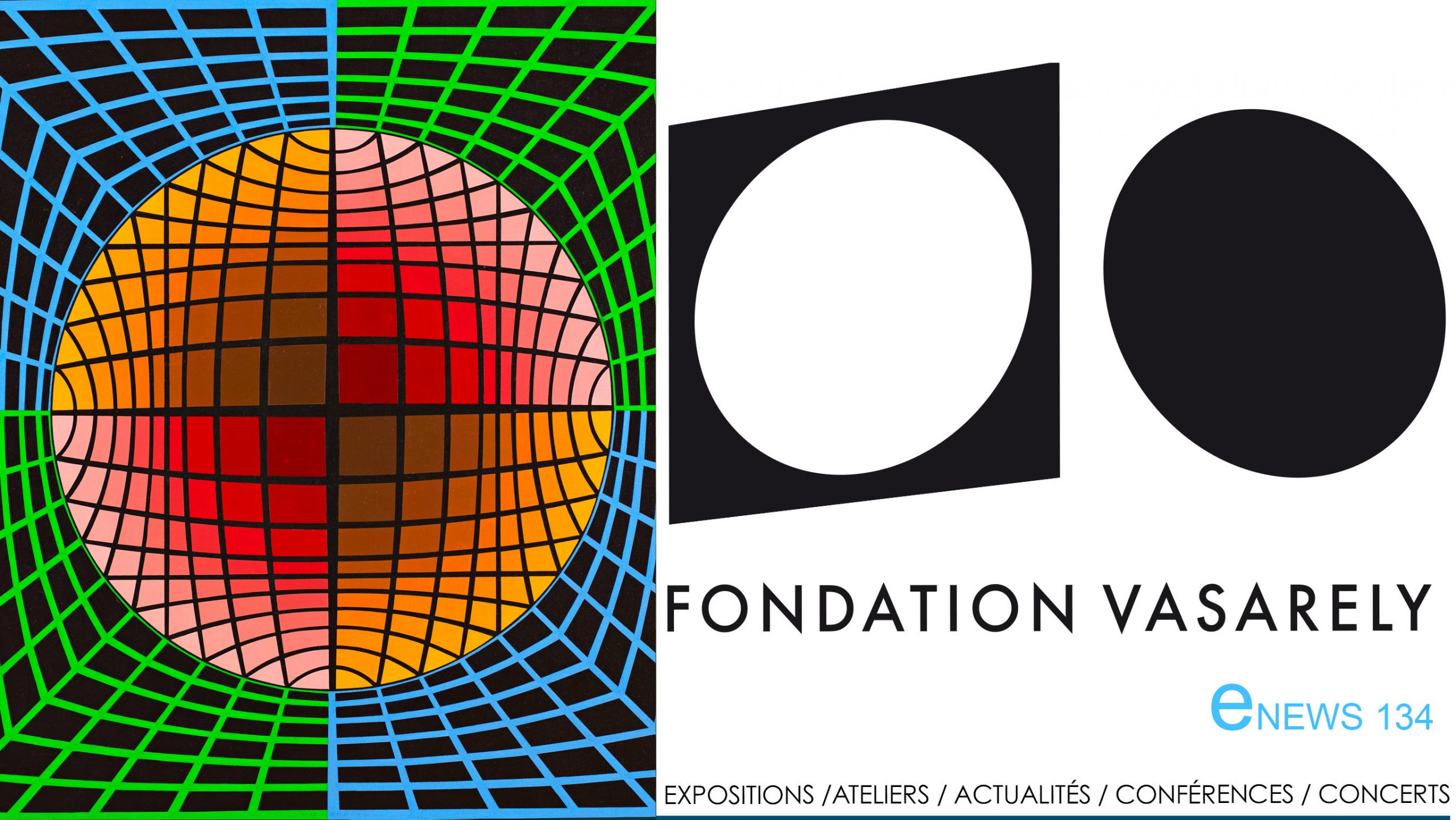 Newsletter de la Fondation Vasarely, Mars 2021